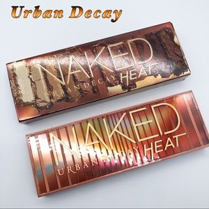 NWOT-Urban Decay NAKED HEAT Eyeshadow Palette